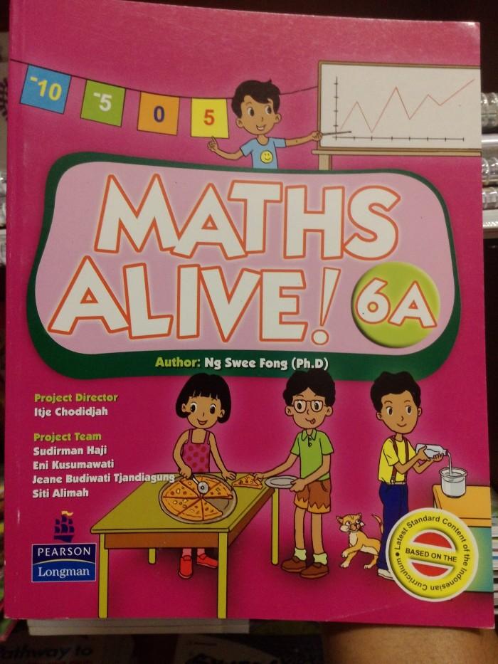 harga Maths alive! 6a textbook Tokopedia.com