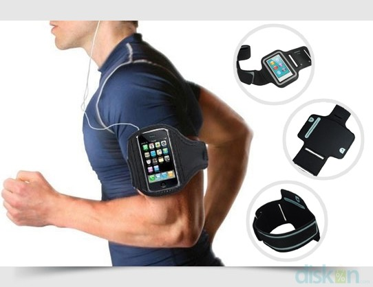 Universal armband sport mobile gadget iphone android model capdase