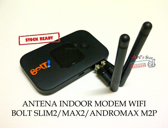 ANTENA INDOOR ~M3~ MODEM BOLT 4G SLIM2 MAX2 ANDROMAX M2P (SLIM MAX 2)
