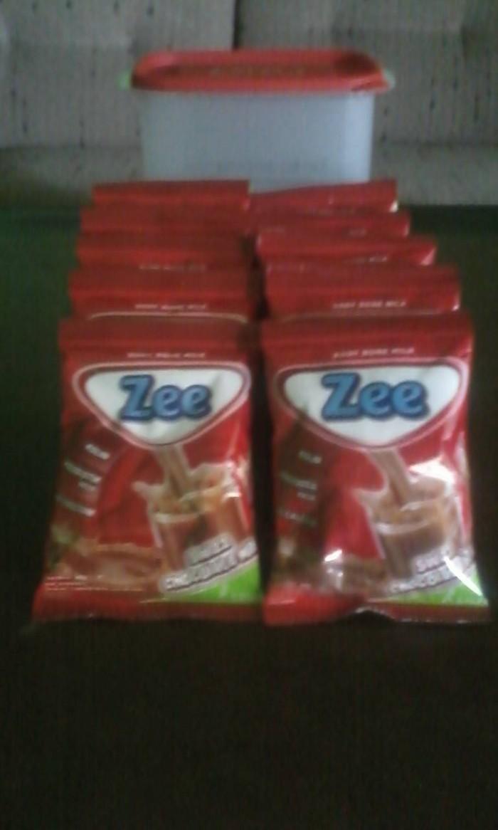 Jual Susu Zee Renceng Varian Coklat Paket Bonus Tumbler Kota Salatiga Milk House