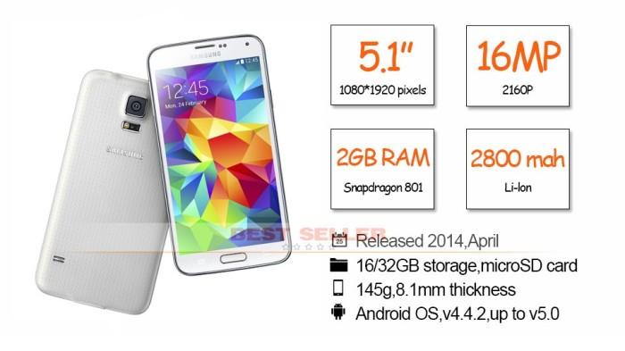 Jual Samsung Galaxy S5 Quad Core 5 1