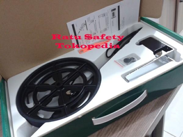 Meteran dorong togoshi / roda dorong / togoshi measuring wheel manual