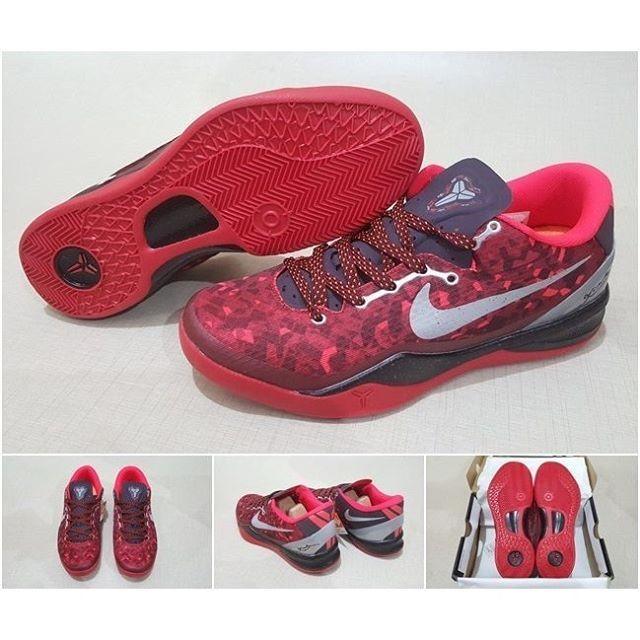 Jual Sepatu Basket NIKE KOBE 8 RED SNAKE (Grade Ori   Replika Import ... 23dcbef2b4