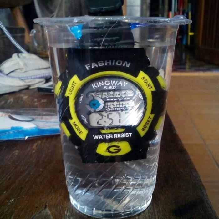 jam tangan digital model g-shock merk kingway anti air waterproff d29452ef4e