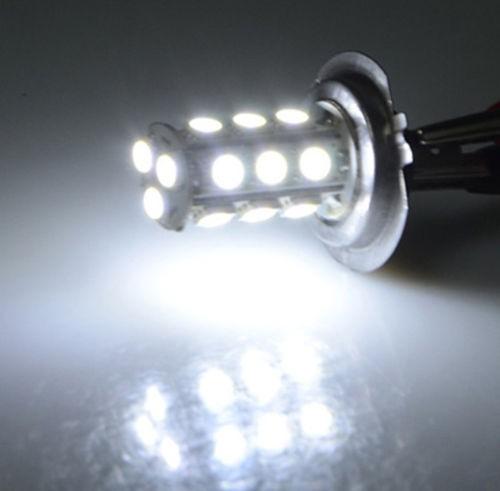 harga H7 led 18 smd 5050 lampu utama depan headlamp head lamp motor mobil Tokopedia.com
