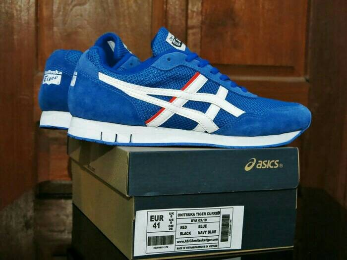 separation shoes b8725 1056b Jual Sepatu ASICS ONITSUKA TIGER CURREO BLUE / Casual Pria / Sport - Kab.  Lamongan - Oneshop70 | Tokopedia