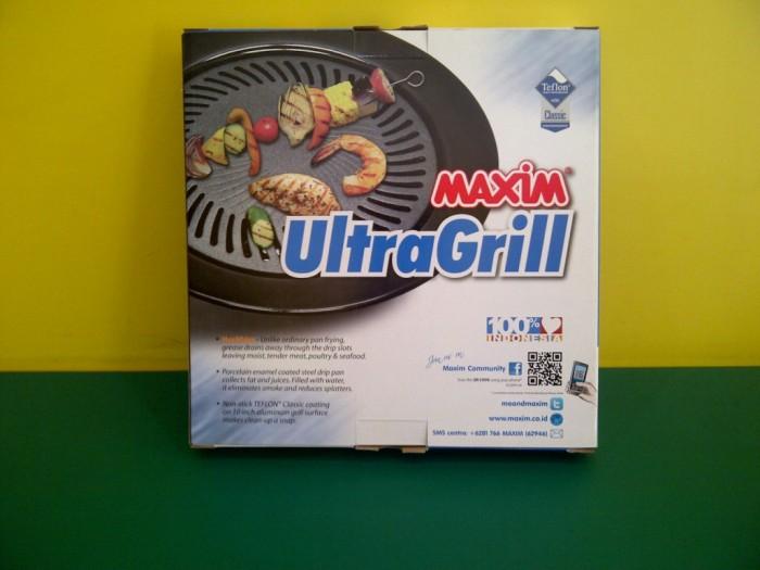 [maxim]ultra grill 25cm/34cm pemanggang maxim serba guna