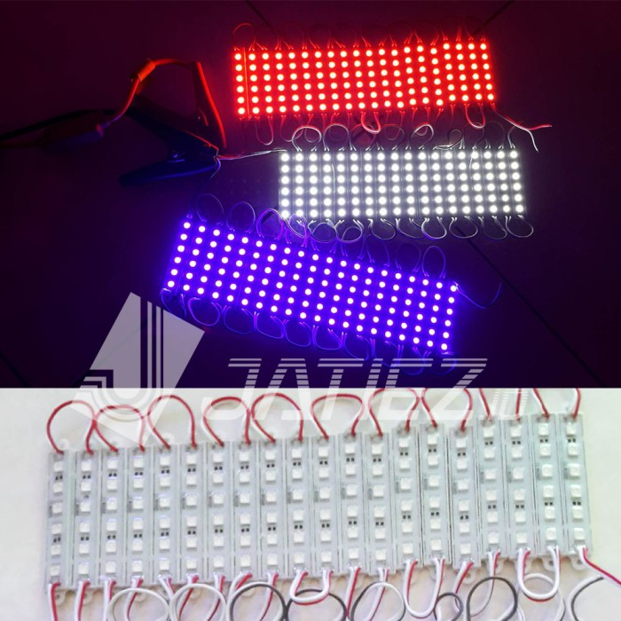 Foto Produk LED Modul 5050 12V 6SMD/Strip - Putih dari JATIEZ Store