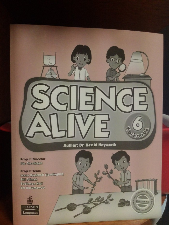 harga Science alive! 6 workbook Tokopedia.com