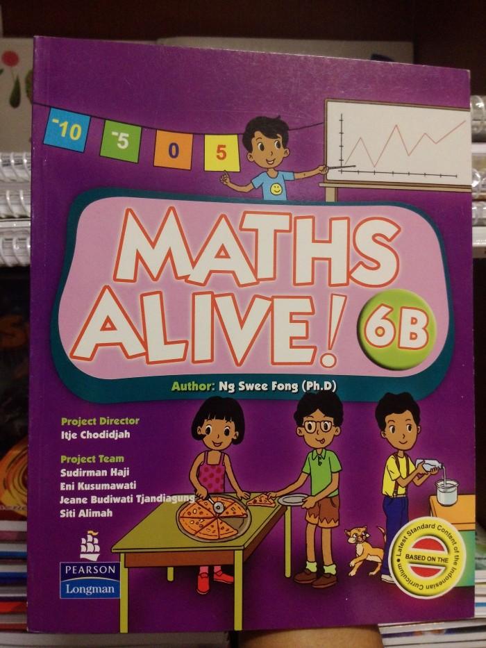 harga Maths alive! 6b textbook Tokopedia.com