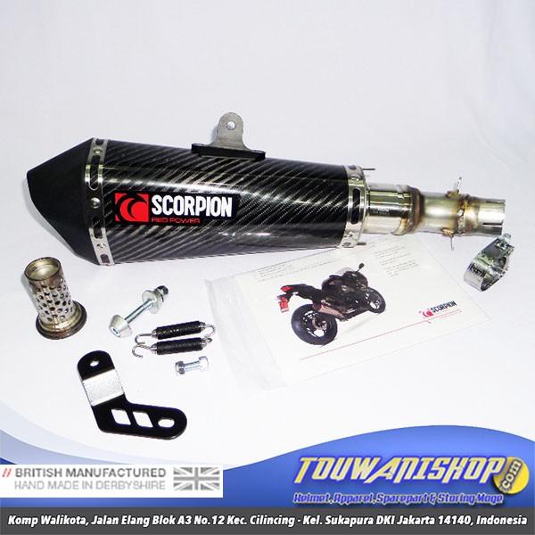 harga Ori knalpot exhaust kawasaki ninja 250 scorpion carbon slipon original Tokopedia.com