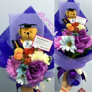 Jual Buket Bunga Graduation Bouquet Kab Indragiri Hilir N H Shop Tokopedia