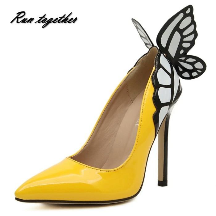 Jual Sepatu Kuning Kupu Kupu Hitam Putih Kab Banyuwangi Keiko House Tokopedia