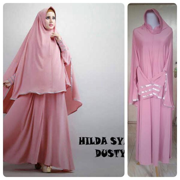 Jual Baju Gamis Murah Dan Cantik Hilda 3d Hijab Tokopedia