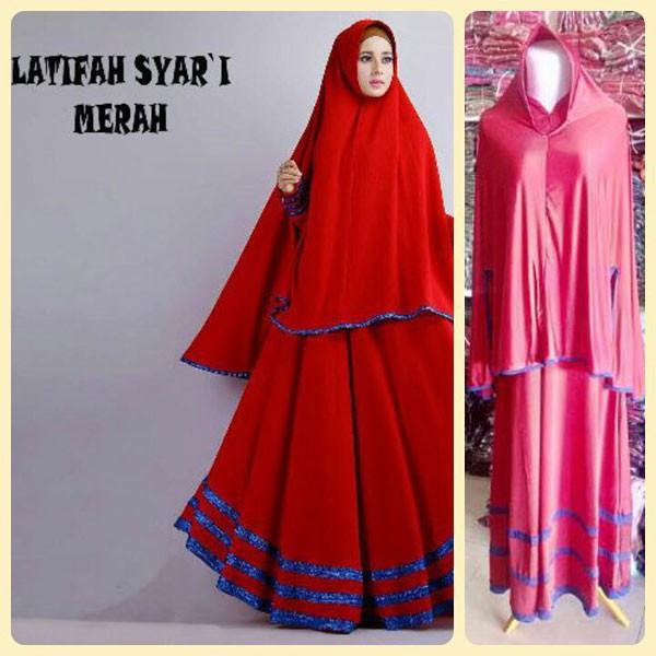 Jual Baju Gamis Murah Dan Cantik Latifah 3d Hijab Tokopedia