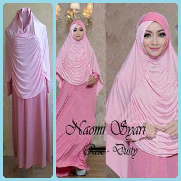 Jual Baju Gamis Murah Dan Cantik Naomi 3d Hijab Tokopedia