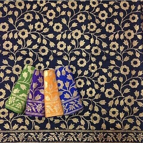 Jual 17 Kain Batik Prada Bunga Kota Pekalongan Griya Zahra Collection Tokopedia