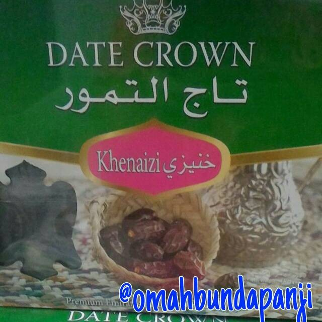 kurma date crown kheneizi premium