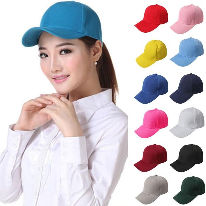 Jual topi basebal bahan twil baseball polos murah buat custom - AREA ... 6bb7e5fab6
