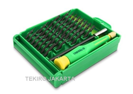 harga Tekiro Obeng Presisi Kacamata Hp Jam - Precision Screwdriver 30in1 Set Tokopedia.com