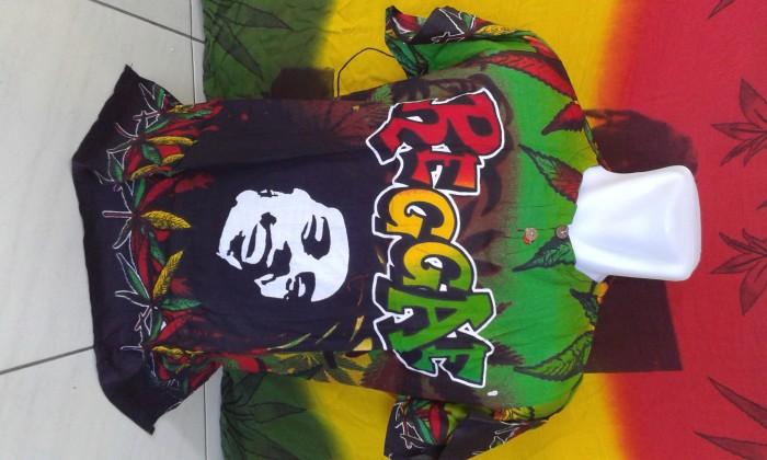 Jual Kaos Pantai Series Bob Marley Kota Palangkaraya Distro Reggae
