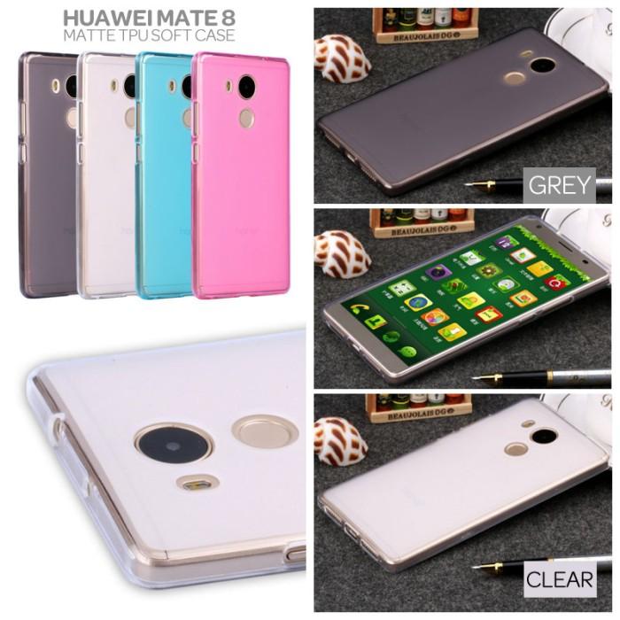 harga Huawei mate 8 matte tpu soft case casing cover Tokopedia.com