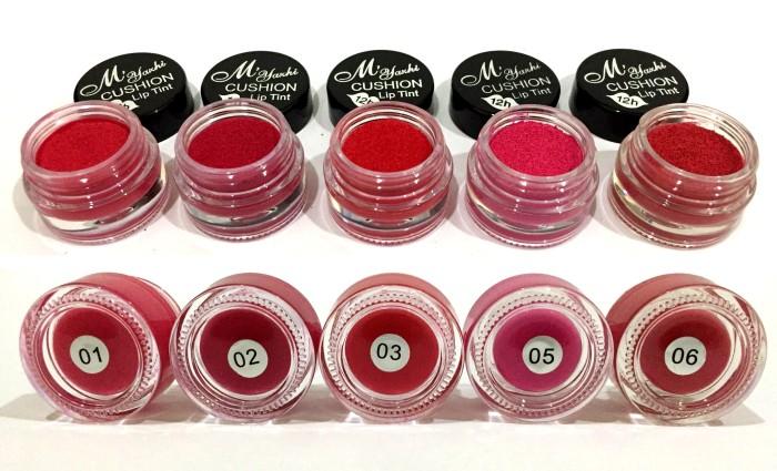 harga Colorstay lip tint gel + brush / cushion liptint cream myazhi Tokopedia.com