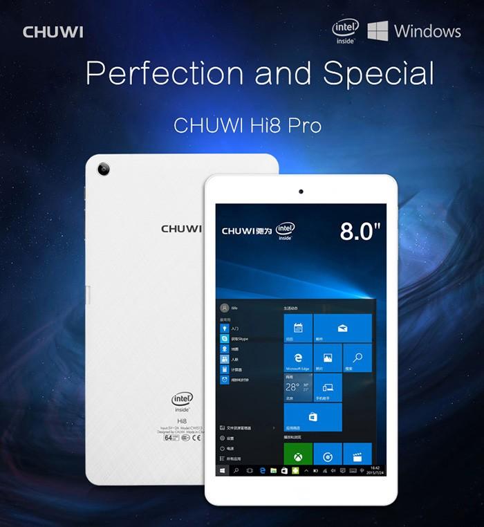 harga Chuwi hi8 pro fhd intel cherrytrail windows 10 + android 5.1 tablet pc Tokopedia.com