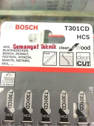 Foto Produk JIGSAW BLADE MATA JIGSAW BOSCH PANJANG T301CD T 301 CD dari Semangat Teknik