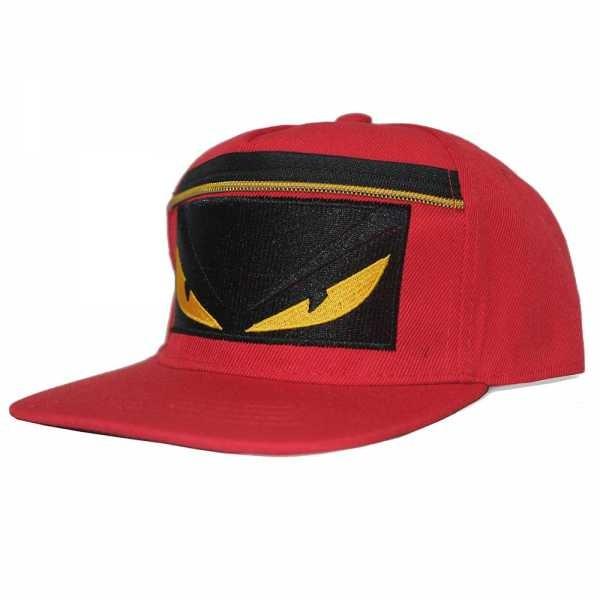 Jual Topi Snapback Fendi Monster Zipper Red - budifashion  9e709e9aee4