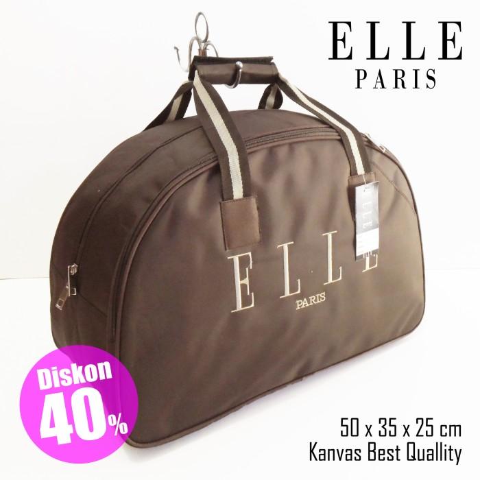 Jual Travelbag   Tas Travel   Tas Mudik   Elle   Coklat - GFB ... 9b738c58bf