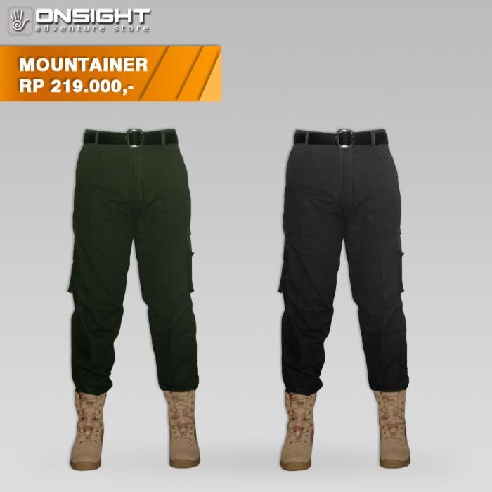 Celana Panjang Cargo Cotrek Mountainer, Celana Gunung Cotrk, Celana