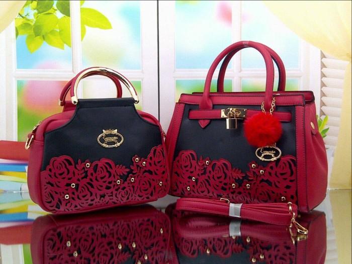 Bag Esmonia M2630-1 SetDuo 2tone Original Krum Bunga