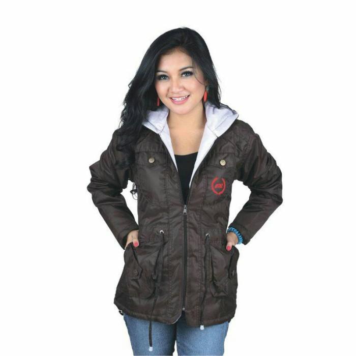 Jaket wanita hoodies trendy gaya modis / jaket gunung parka wanita ctz