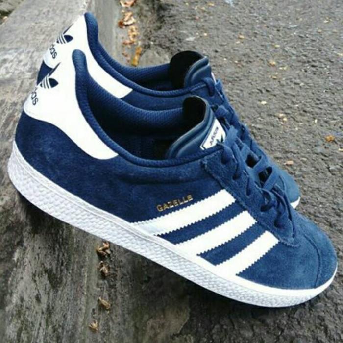 Jual Sepatu Adidas Gazelle II Original. Navy White - UPAYFAN ... 038671ce14