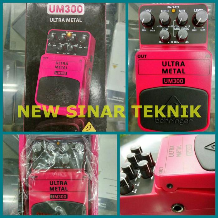 harga Behringer um300 heavy metal distortion stompbox / pedal efek gitar Tokopedia.com