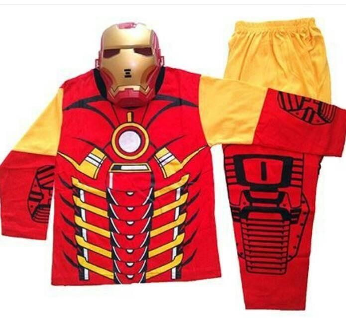 62 Contoh Baju Tidur Iron Man Terlihat Keren