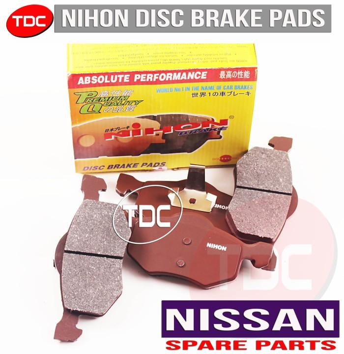 harga Nihon brake pad sunny b11b12 diesel front nissan kampas rem depan Tokopedia.com
