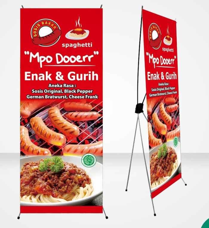 Spanduk Untuk Jual Makanan - contoh desain spanduk