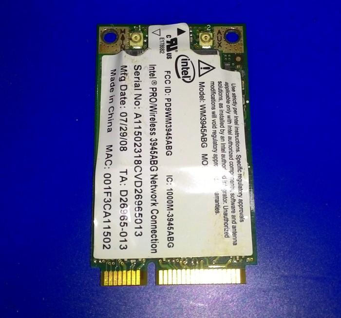 INTEL 3945ABG VIRTUAL WIFI DRIVERS WINDOWS XP