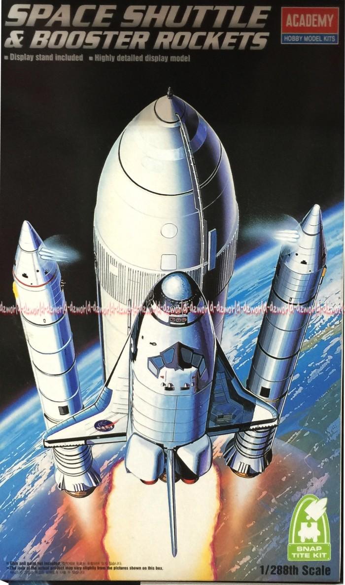 harga Model kit rocket pesawat angkasa academy space shuttle booster rockets Tokopedia.com