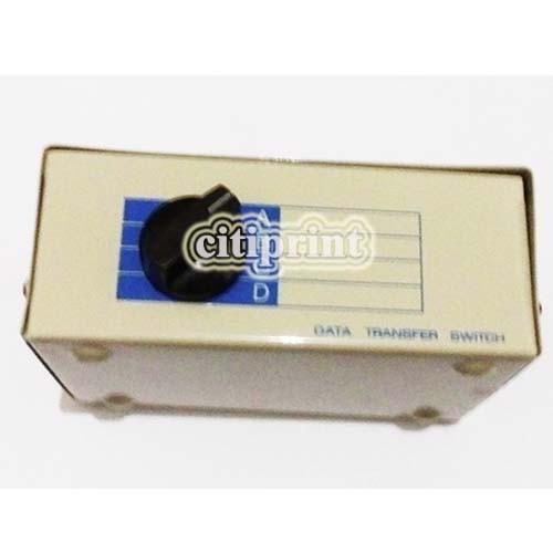 harga Data switch 4 port manual / manual switch parallel printer 1-4 Tokopedia.com