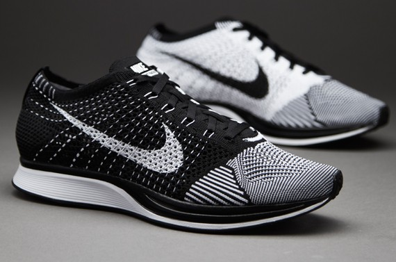 official photos e9254 8e0e8 ... get sneaker sepatu nike racer flyknit black white import premium 1 1  c5791 fb838