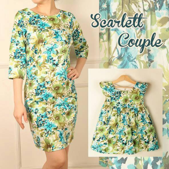 Foto Produk baju couple | scarlett | dresscouple | baju ibu dan anak dari dresscouple.chys