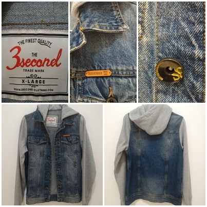 Image result for Jaket jeans 3second