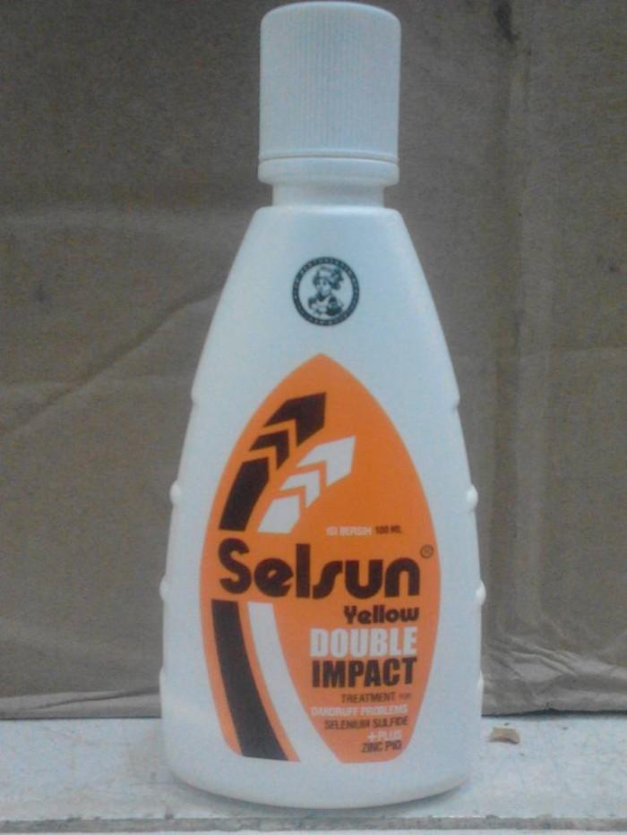 Foto Produk SHAMPOO SELSUN YELLOW DOUBLE IMPACT dari raina cosmetik