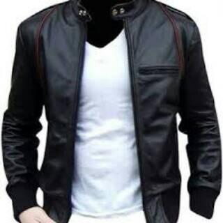 harga Jaket semi kulit aril/jaket pria casual/jaket motor Tokopedia.com