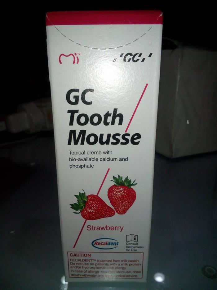 harga Odol Gc Tooth Mousse Strawberry Tokopedia.com