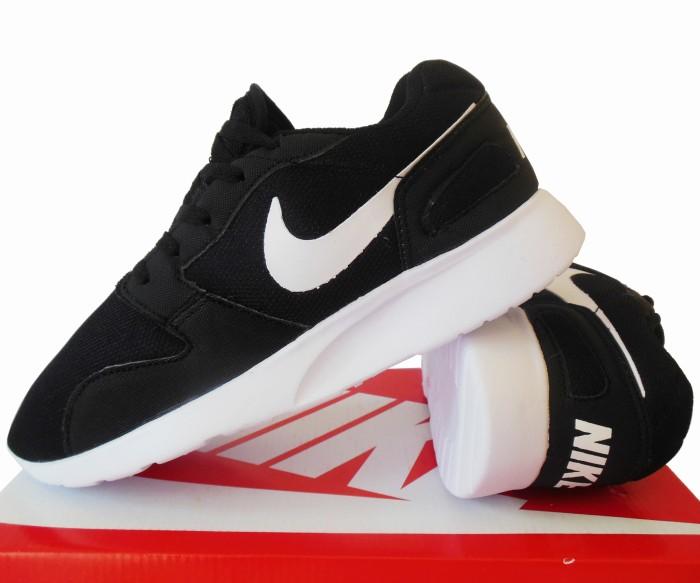 1599477c0b68d ... buy sepatu running nike kaishi run hitam putih olahraga gym fitness  310f1 bcf96