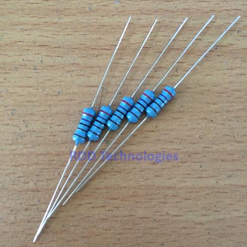 Foto Produk Resistor Metal Film 1/2 Watt 1% dari RDD-TECH